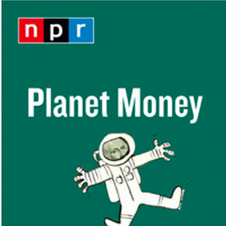 Headshot of Orley Ashenfelter with NPR Planet Money logo