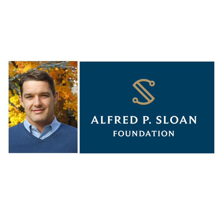 Christopher Neilson and Sloan Foundation logo