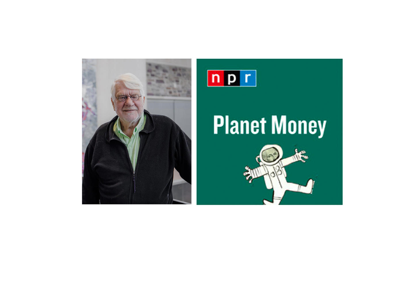Orley Ashenfelter and NPR Planet Money logo
