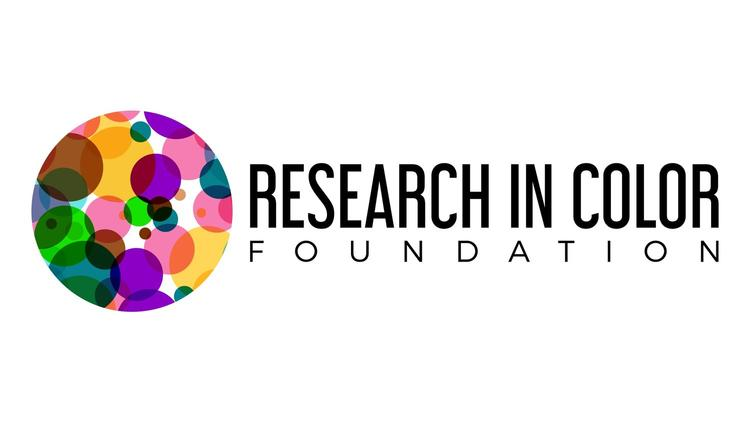 Multi-Color circular logo of the Research in Color Foundation
