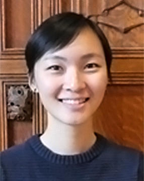 Headshot of Stephanie Hao wearing a dark navy sweater